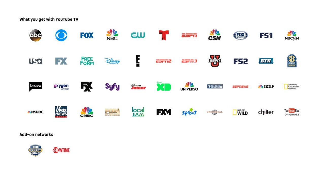 お気に入りにするだけで録画に!テレビが視聴できる「YouTube TV」発表