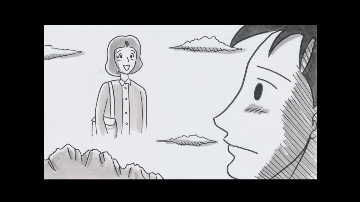 鉄拳がパラパラ漫画で故郷を描く大作「きらり輝く」