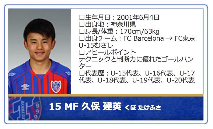 FC東京U23・久保建英、15歳10ヶ月11日でJ最年少ゴールを決める