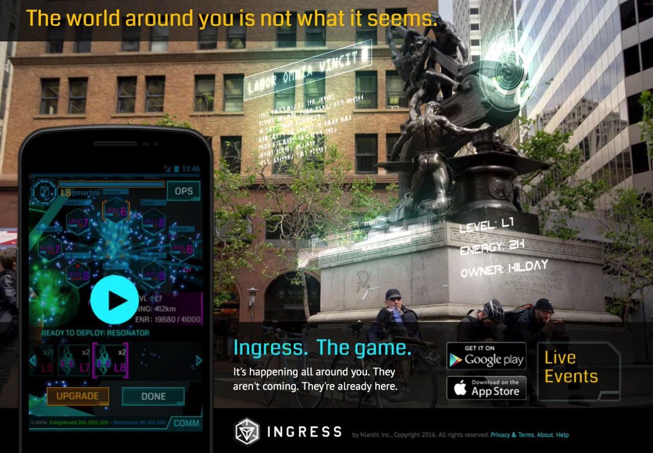 【Ingress】「Ingress 2.0」なるものがリリース予定なのか‥‥!