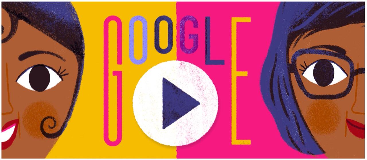 Googleロゴ「ジョセフィン ベイカー」に(ジャズ歌手・女優)