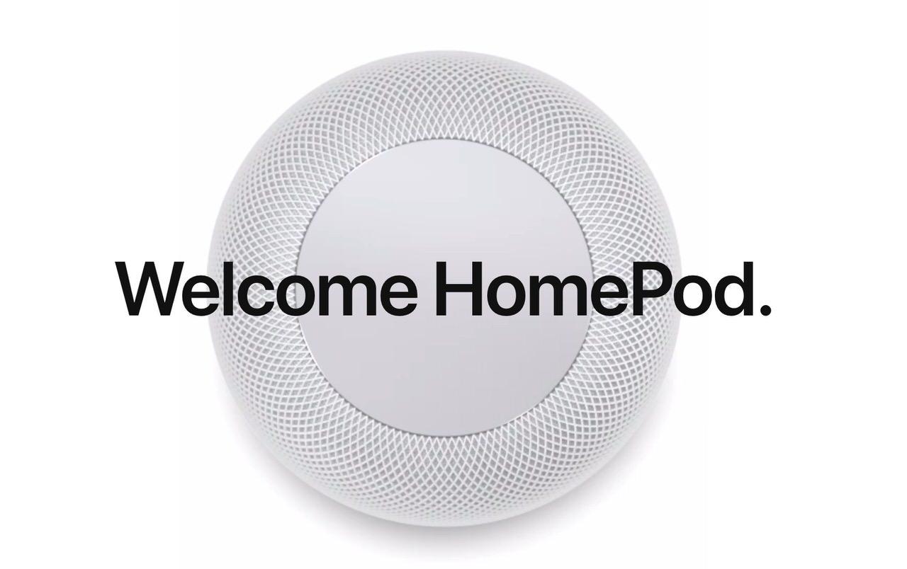 「HomePod」Siriで音声コントロール可能なAppleデザインのホームスピーカー