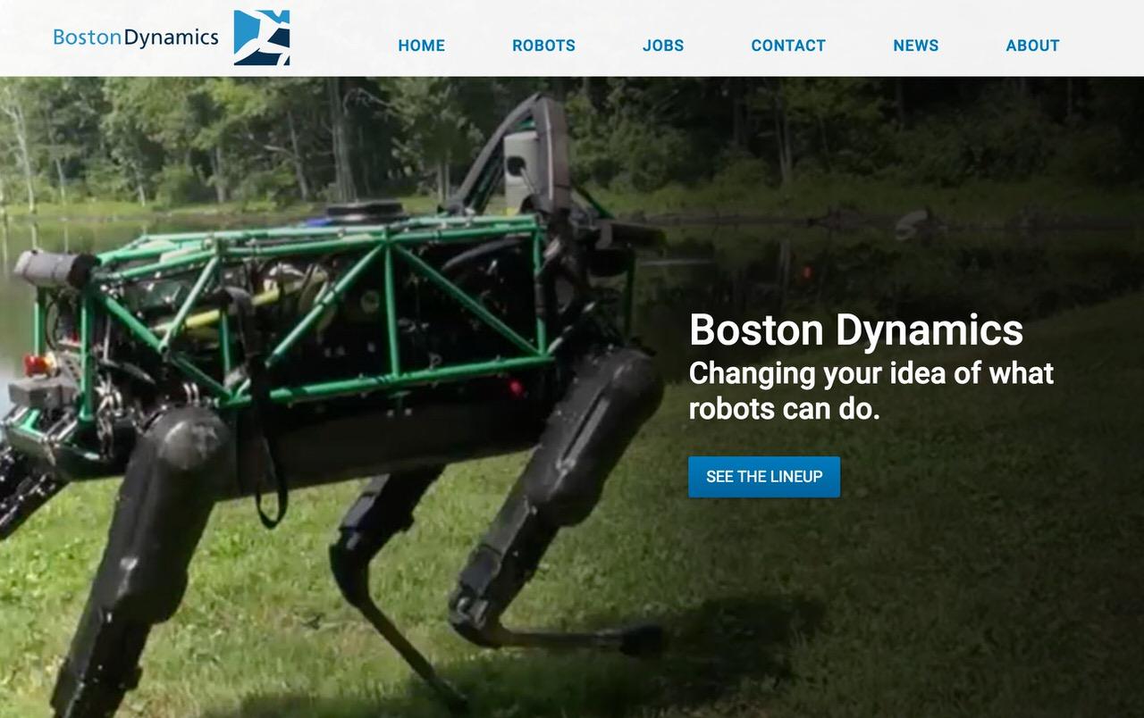 ソフトバンクがロボット開発の「Boston Dynamics」と「Schaft」を買収