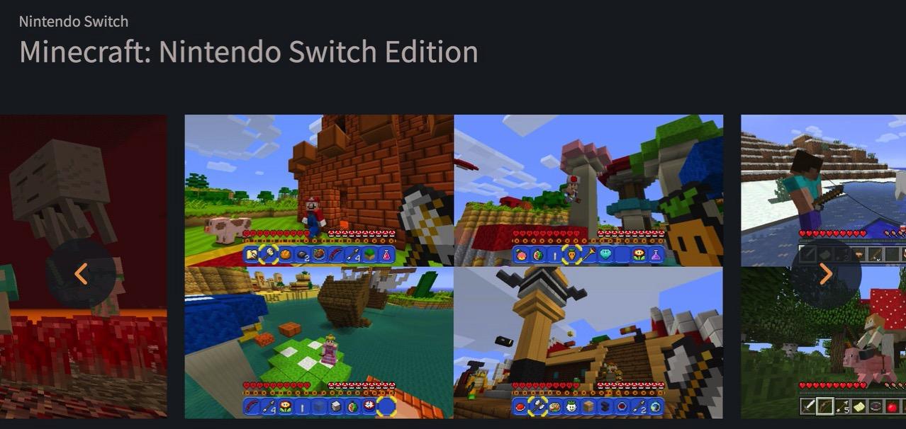 【Switch】「Minecraft: Nintendo Switch Edition」何が面白いのかよく分からないけど子供とプレイしていると楽しい