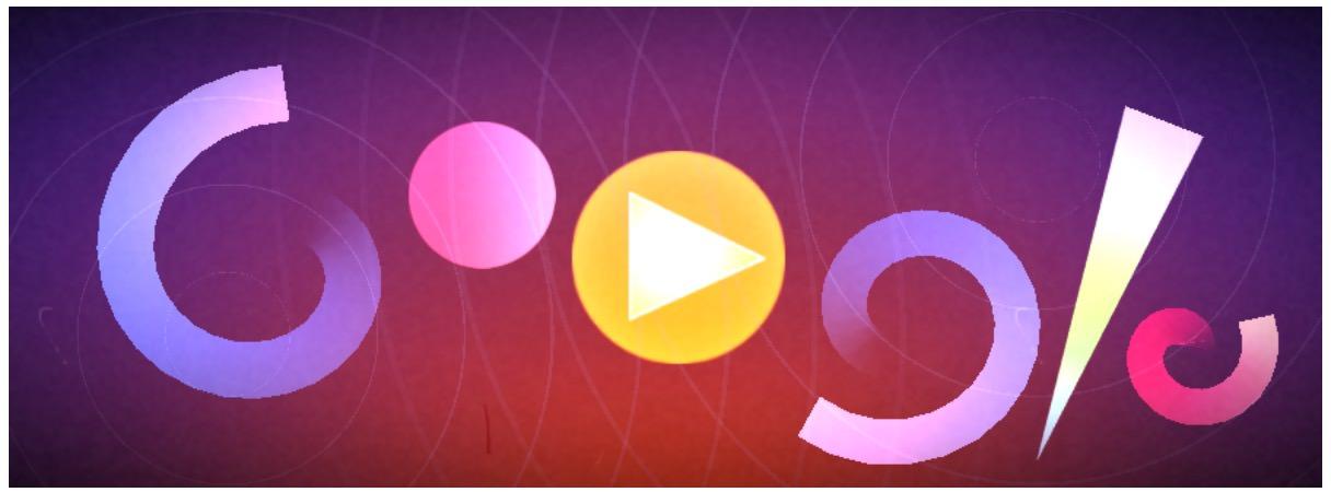Googleロゴ「オスカー フィッシンガー」に 〜ビジュアル作曲ができる