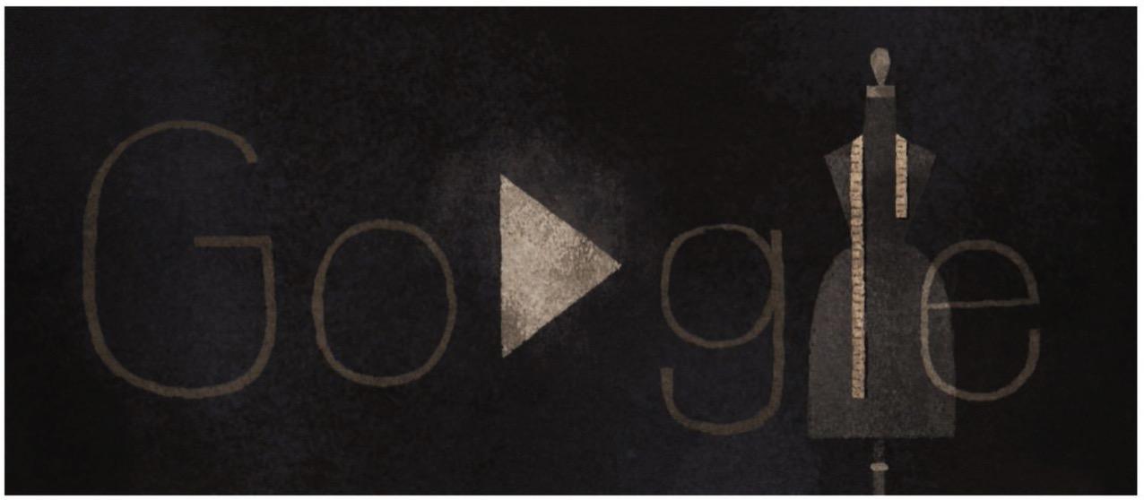 Googleロゴ「石岡瑛子」に(アートディレクター・デザイナー)