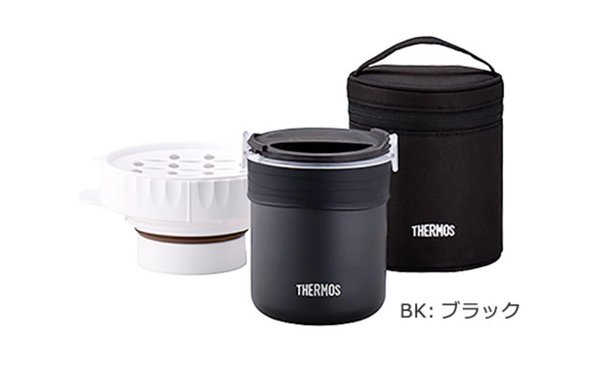 レンジ加熱8分+保温30分「サーモス ごはんが炊ける弁当箱(JBS-360)」