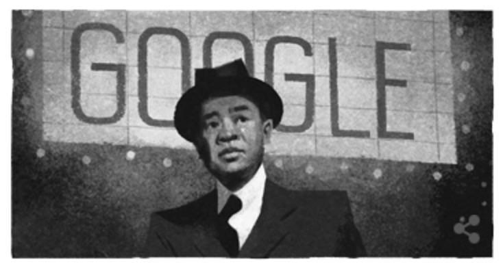 Googleロゴ「ジェームズ・ウォン・ハウ」に(撮影監督)
