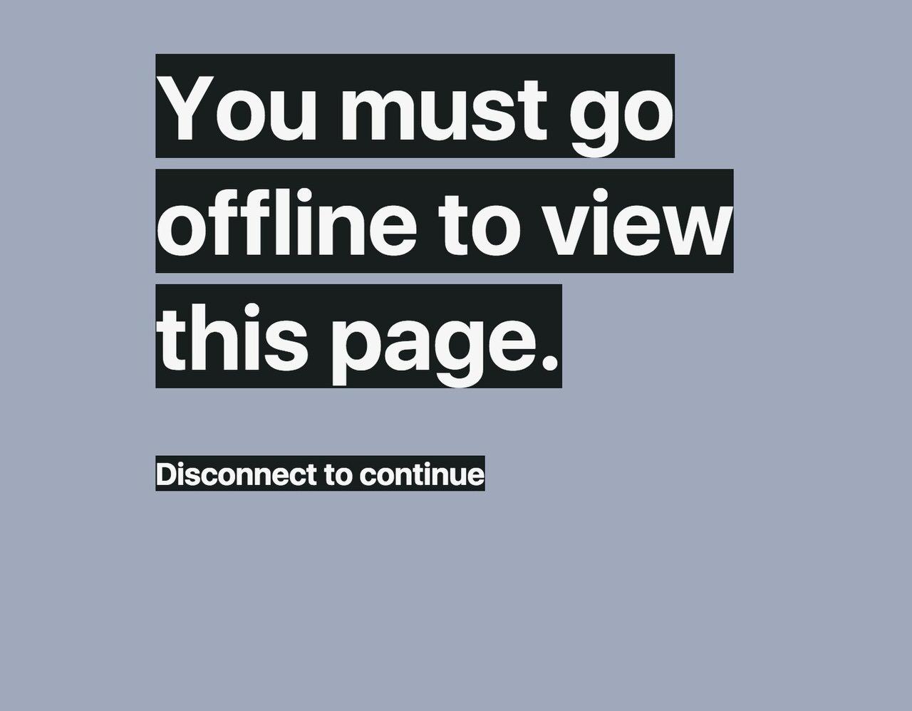 ネット回線をオフラインにしないと読めない文書というアイデア