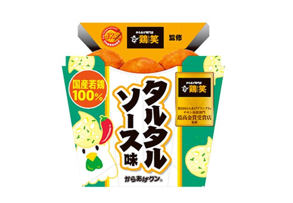 浦和の人気唐揚げ店「鶏笑」がローソンからあげクンを監修「タルタルソース味」9/5発売
