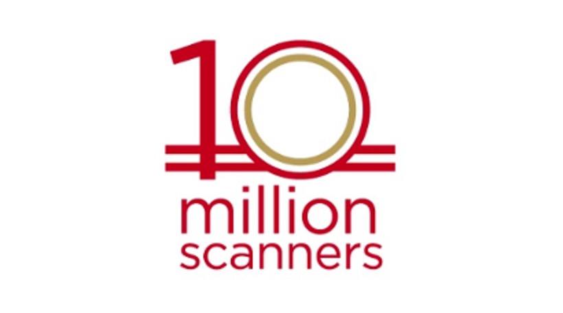 PFUイメージスキャナ全世界累計出荷台数1,000万台を突破