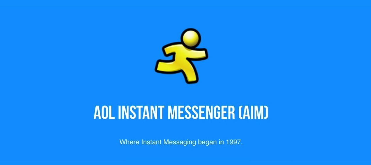「AOL Instant Messenger(AIM)」2017年12月15日で終了と発表