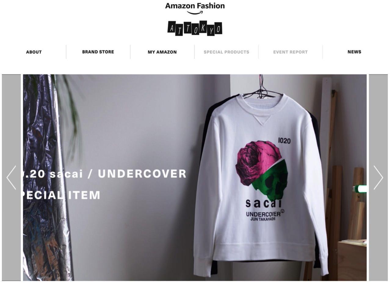 Amazon、東京の「今」を象徴するブランドを集めたストア「AT TOKYO」オープン