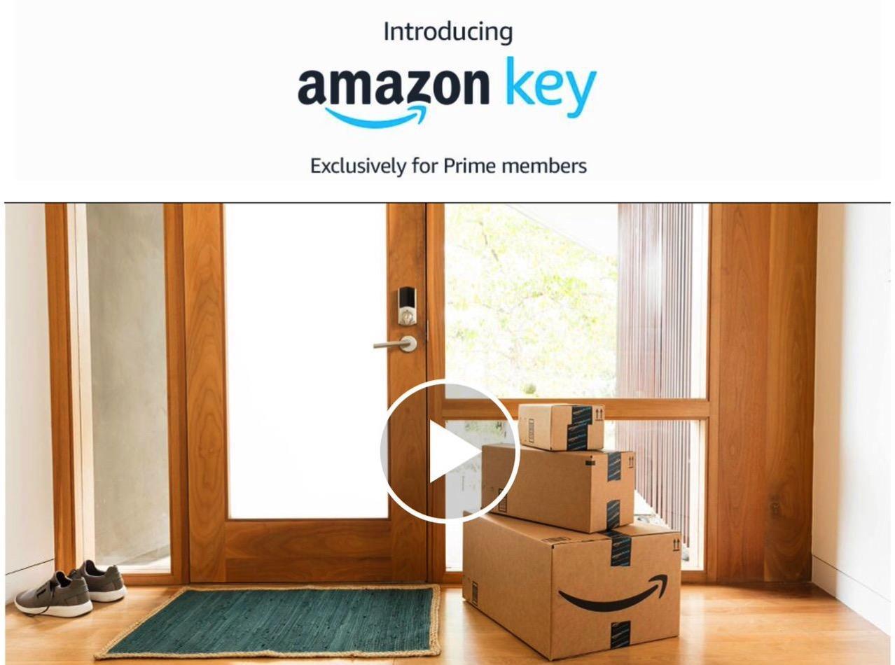 不在時でも家の中に荷物を届ける「Amazon Key」発表
