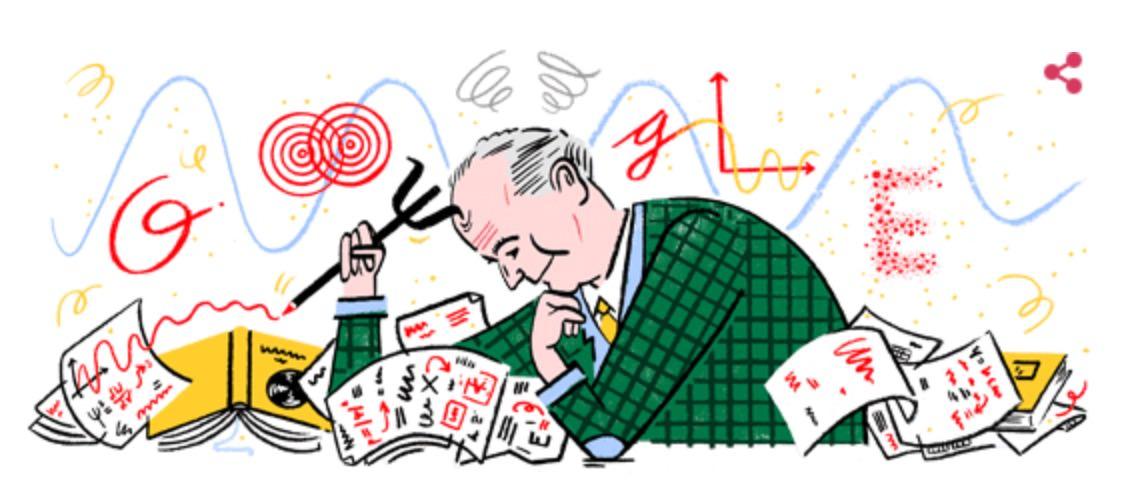 Googleロゴ「マックス ボルン」に(ドイツの理論物理学者)