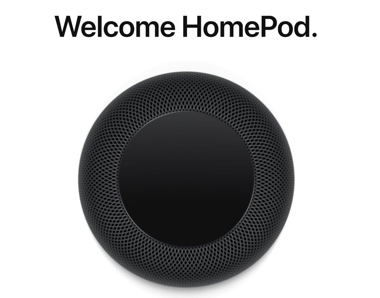 Appleのスマートスピーカー「HomePod」2018年2月9日より発売開始