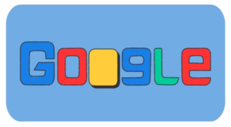 Googleロゴ「2018 年冬季オリンピック」に
