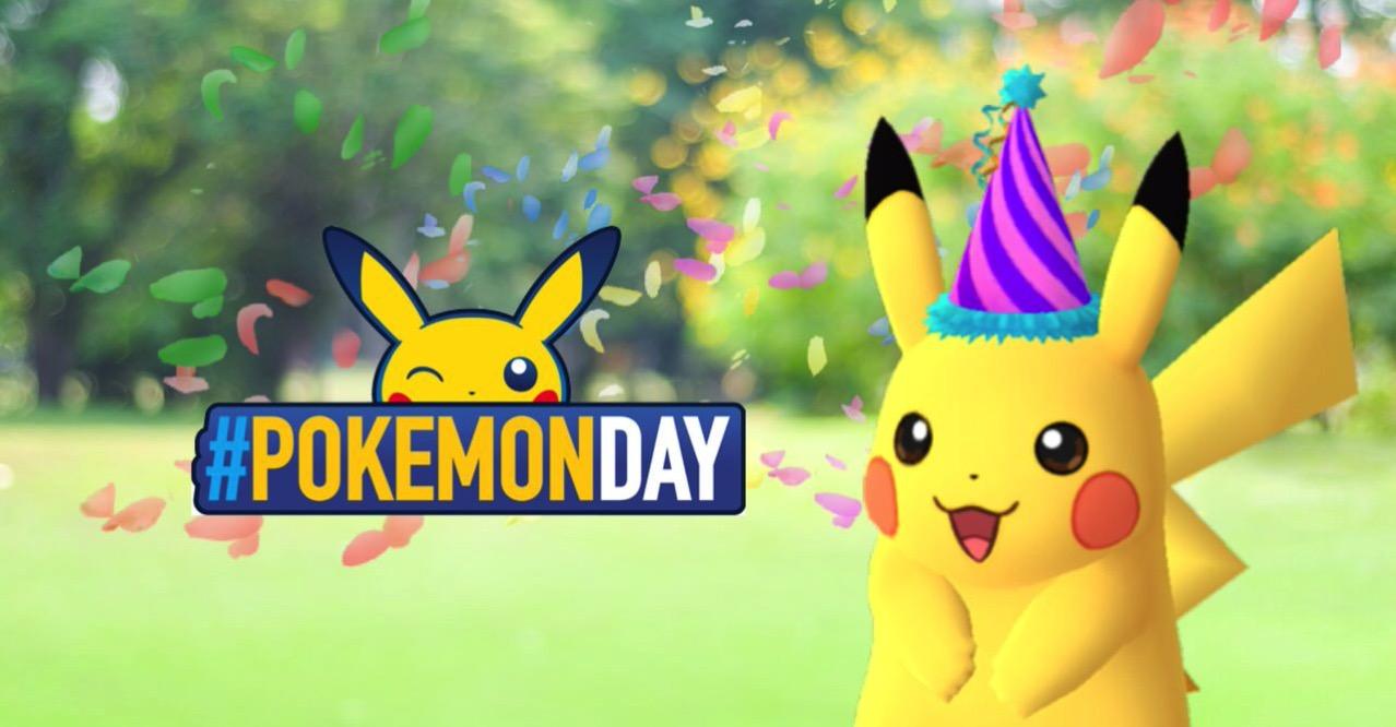 【ポケモンGO】ポケモン誕生の日でとんがり帽子のピカチュウが登場(2/28まで)