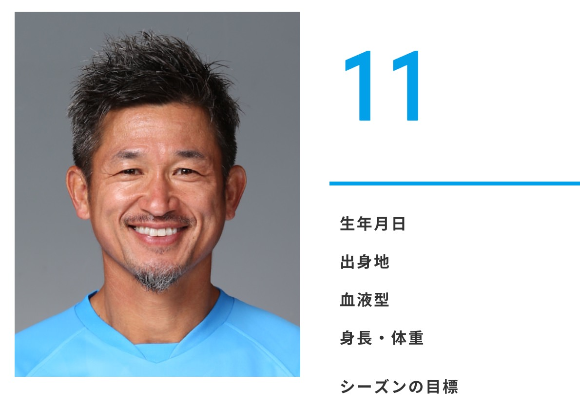 【J2】横浜FC・三浦知良、Jリーグ最年長出場記録を更新(51歳5日)