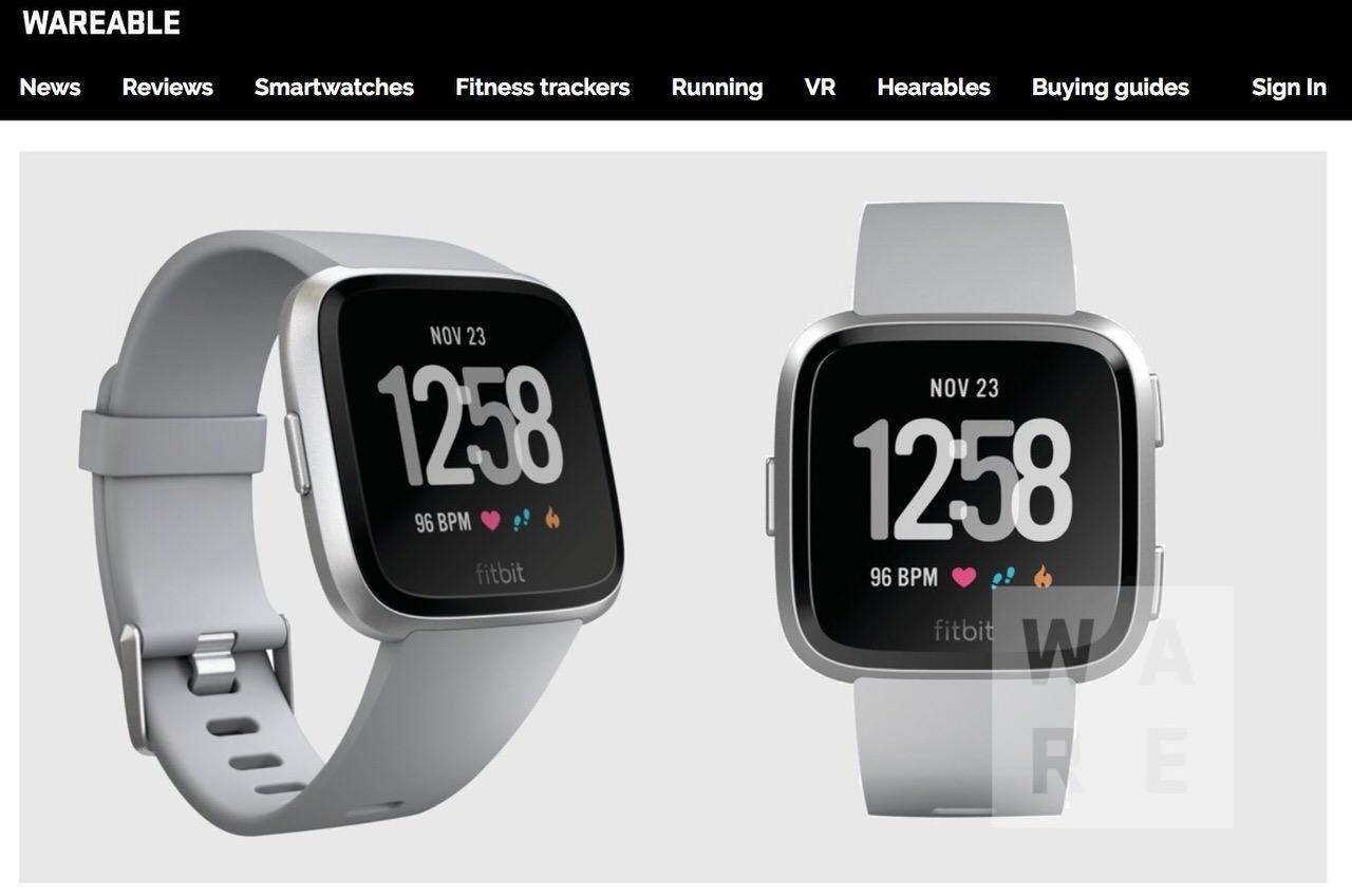 Fitbitの新しいスマートウォッチは「Pebble」に似ている‥‥