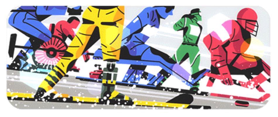 Googleロゴ「パラリンピック 2018」に