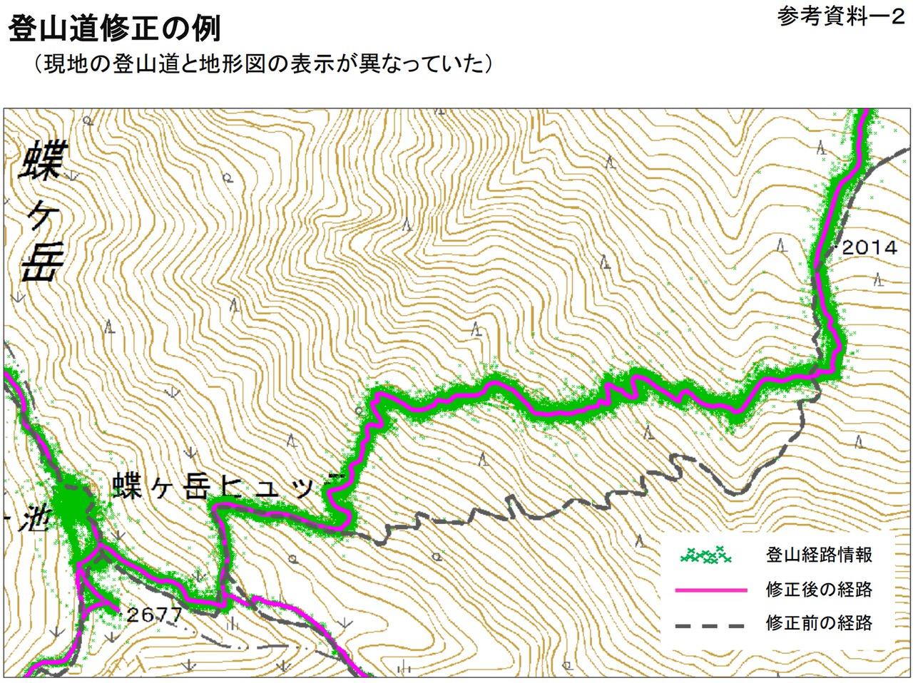 国土地理院、ビッグデータで登山道を修正した地形図をはじめて公開
