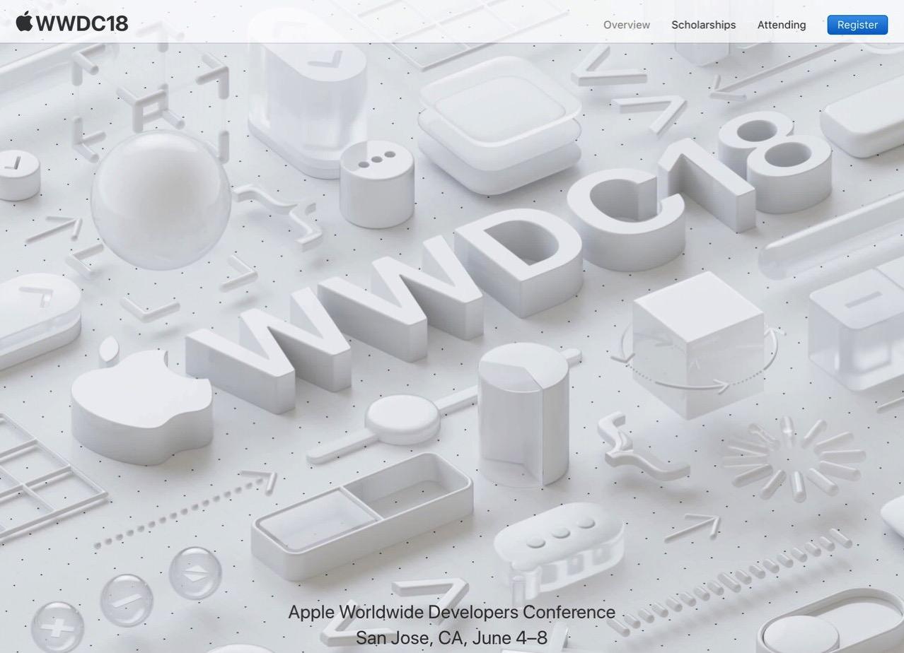 Apple「WWDC」を2018年6月4日〜8日にサンノゼで開催すると発表