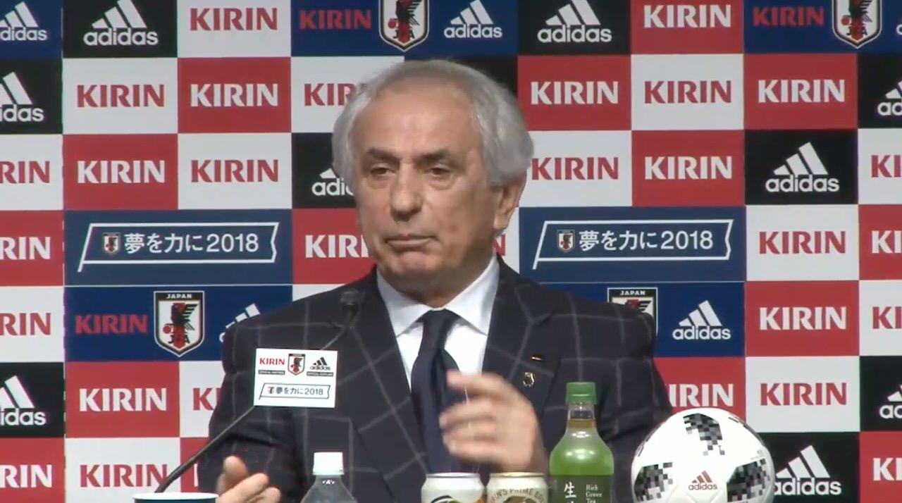 【速報】欧州遠征に向けたサッカー日本代表のメンバーが発表