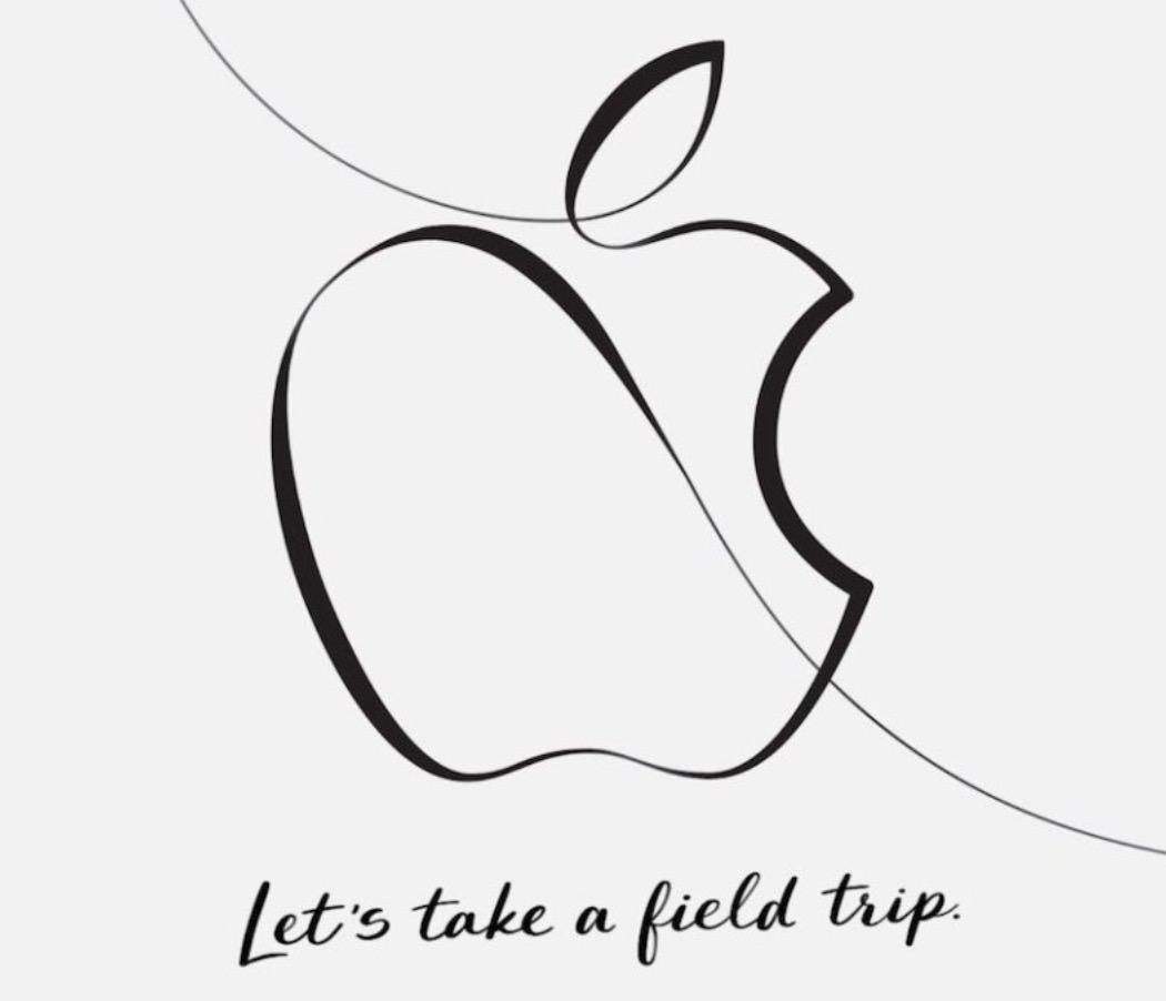 Apple、スペシャルイベント「Let's take a field trip」を3/27に開催へ
