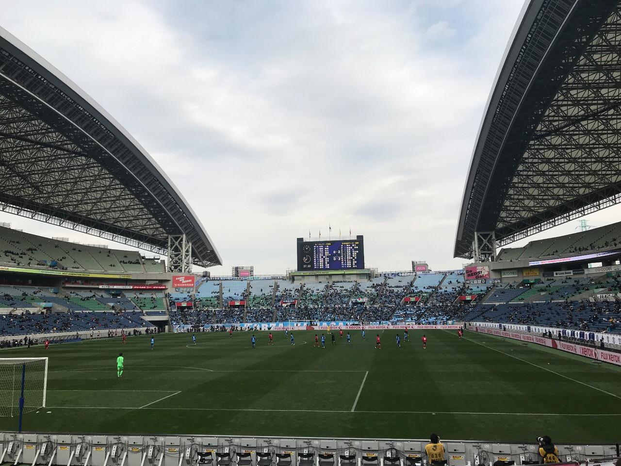 「NEXT GENERATION MATCH U-18 Jリーグ選抜 vs 日本高校サッカー選抜」を埼スタで観戦!