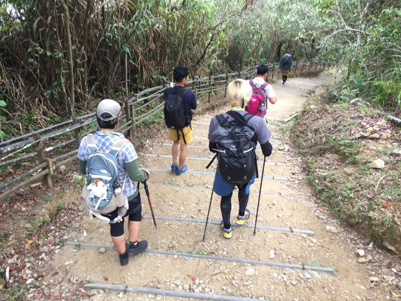 Kota Kinabalu climbing 3980