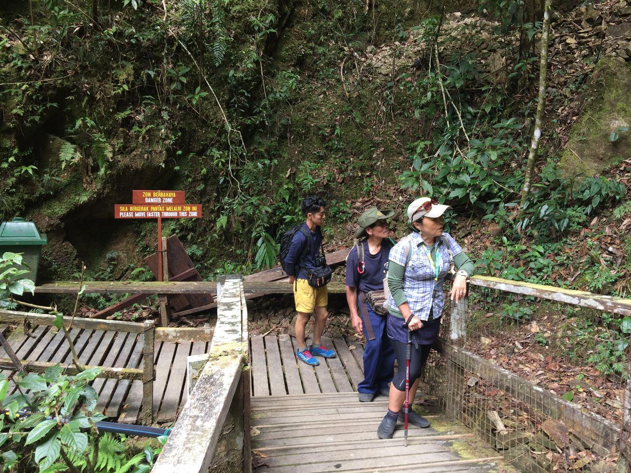 Kota Kinabalu climbing 3983