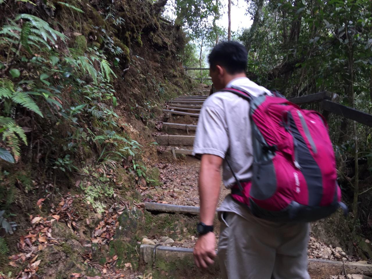 Kota Kinabalu climbing 3986