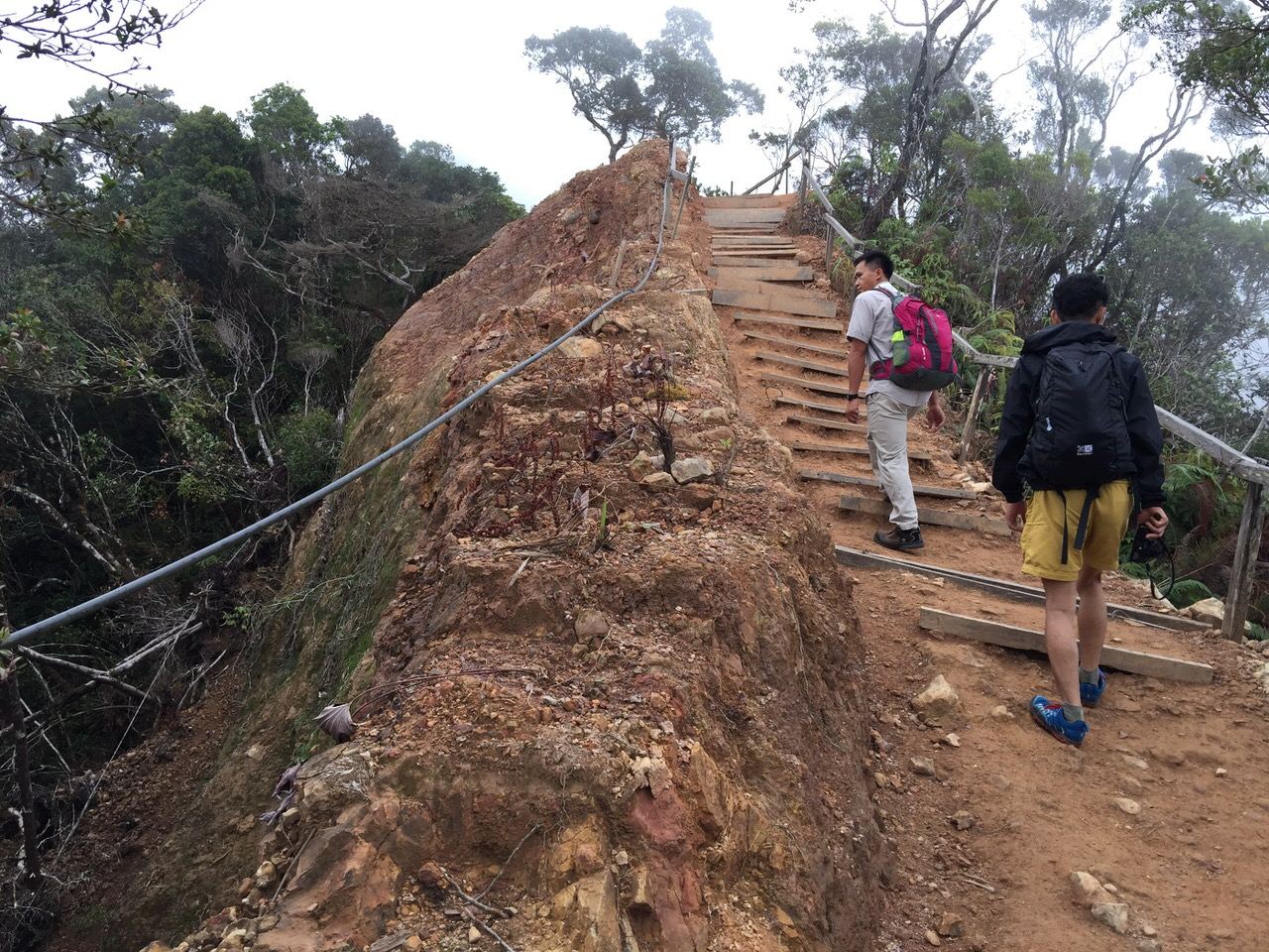 Kota Kinabalu climbing 3996