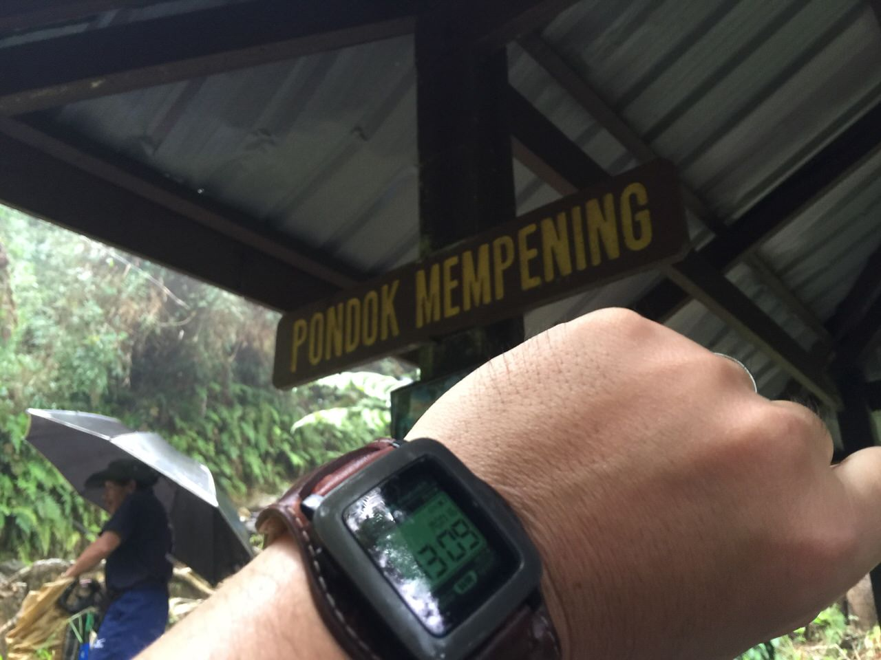 Kota Kinabalu climbing 4018