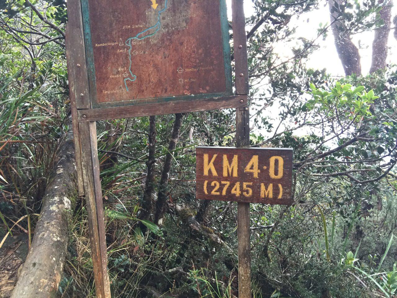 Kota Kinabalu climbing 4052
