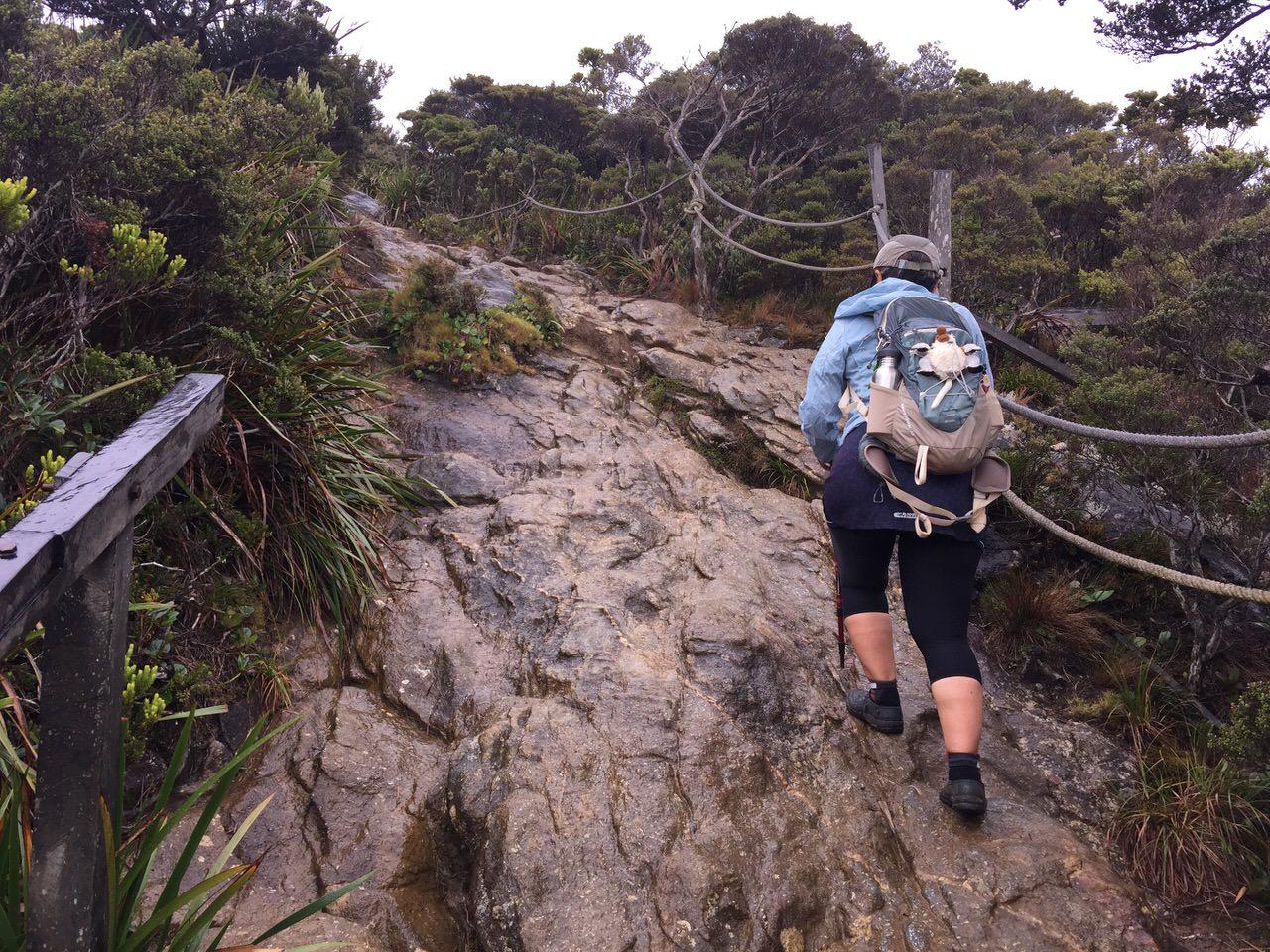 Kota Kinabalu climbing 4078