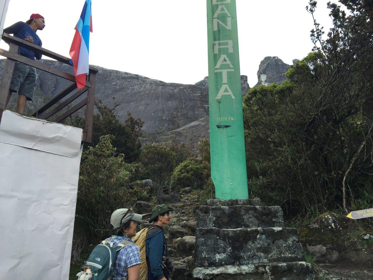 Kota Kinabalu climbing 4097