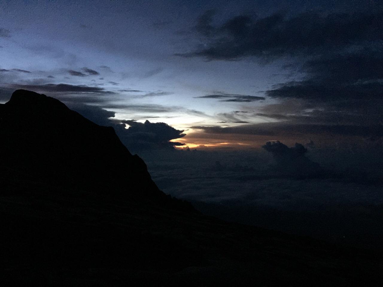 Kota Kinabalu climbing 4145