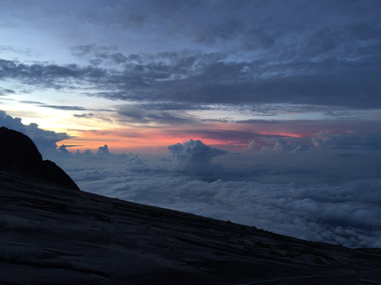Kota Kinabalu climbing 4152