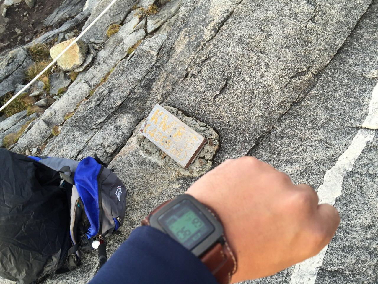Kota Kinabalu climbing 4156