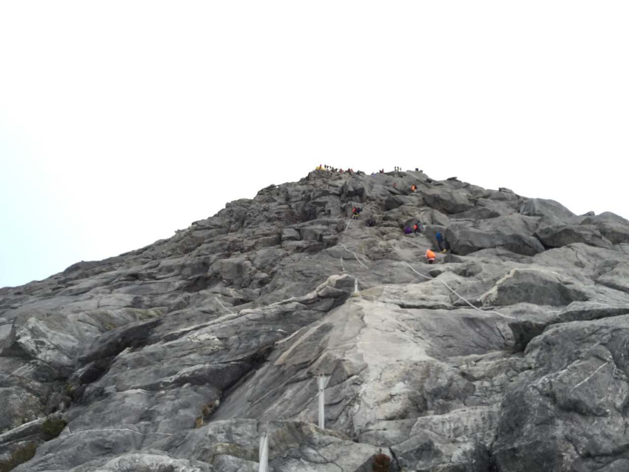 Kota Kinabalu climbing 4158