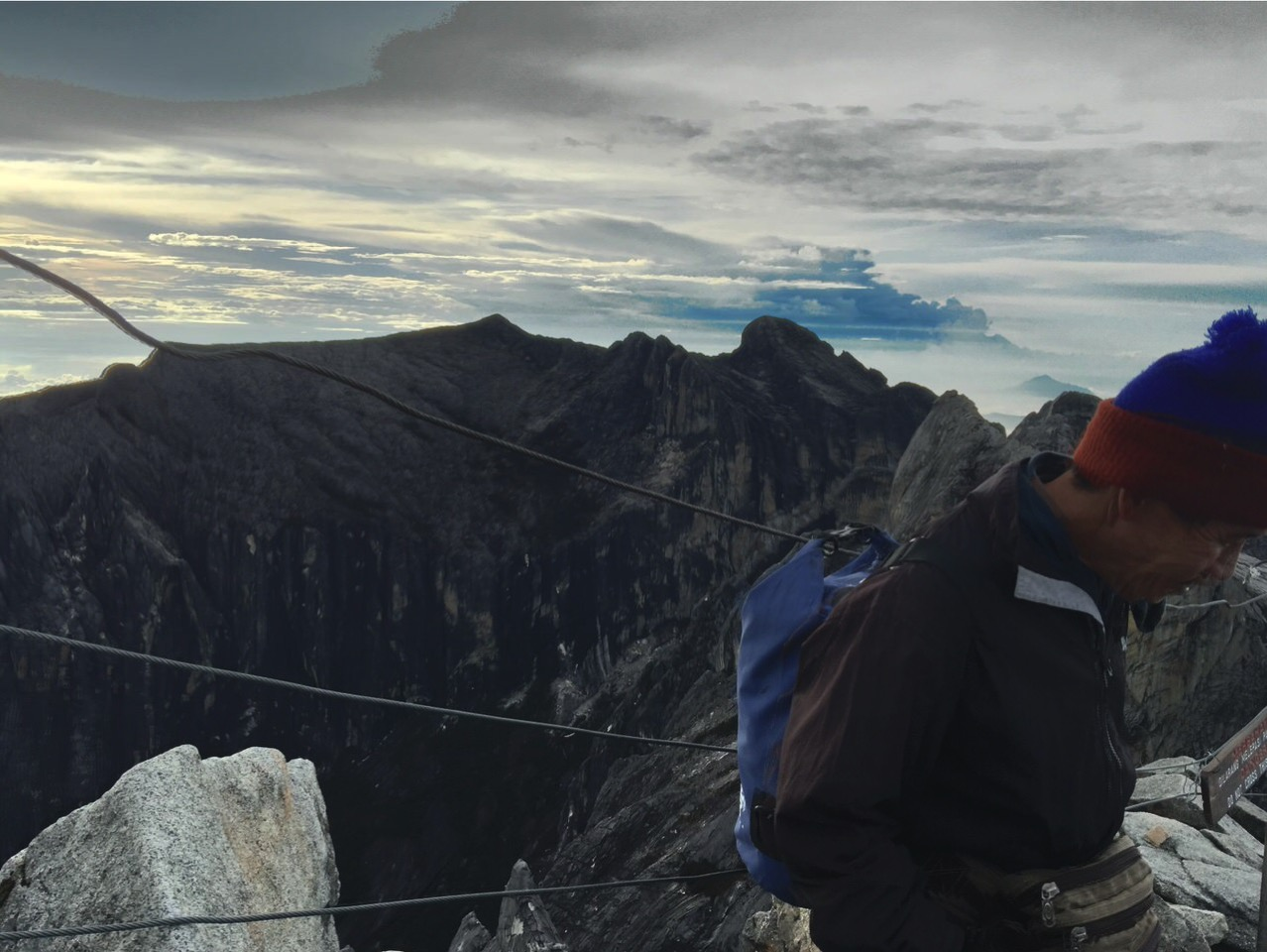 Kota Kinabalu climbing 4161