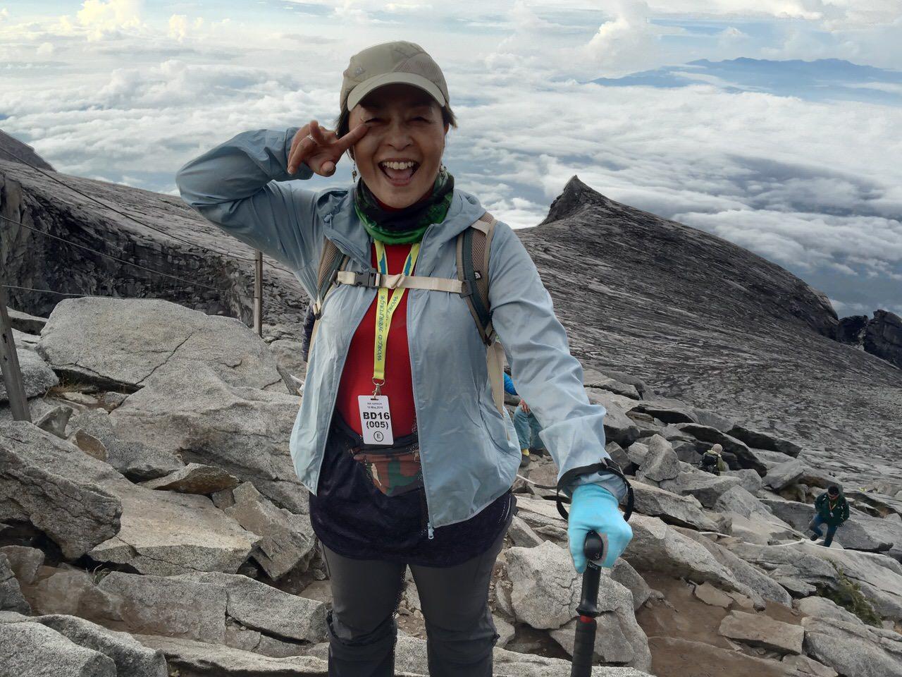 Kota Kinabalu climbing 4162