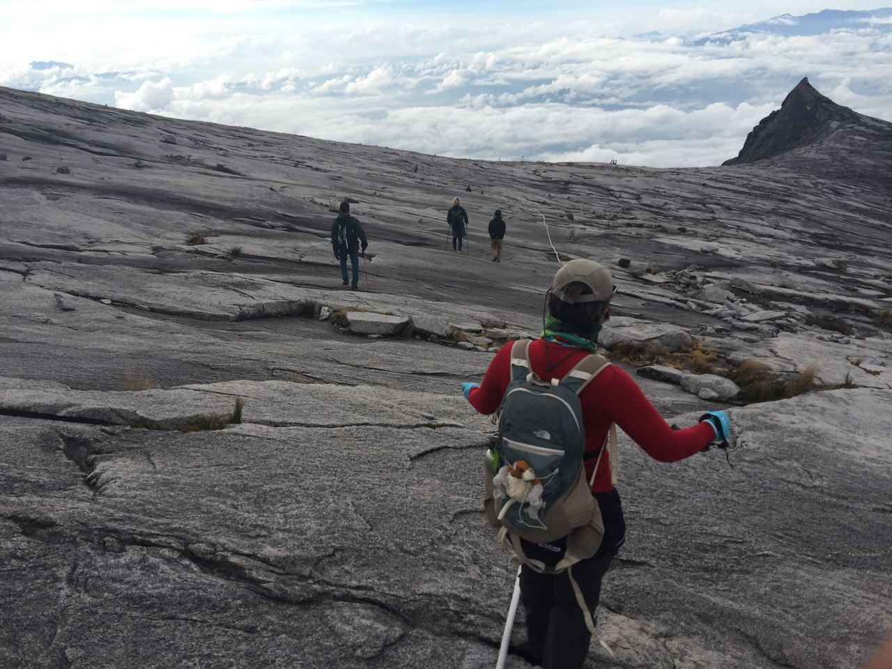 Kota Kinabalu climbing 4173