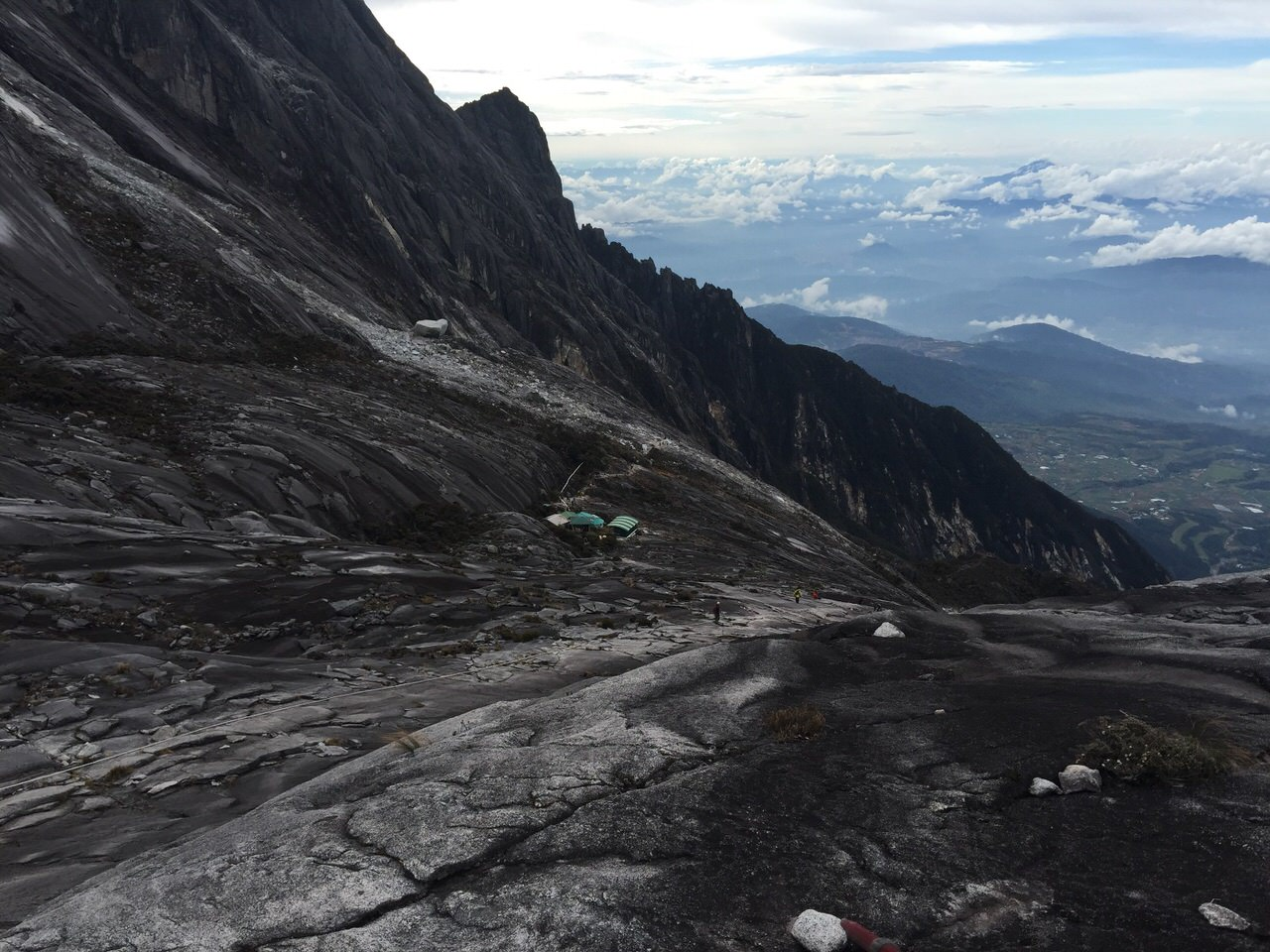 Kota Kinabalu climbing 4180