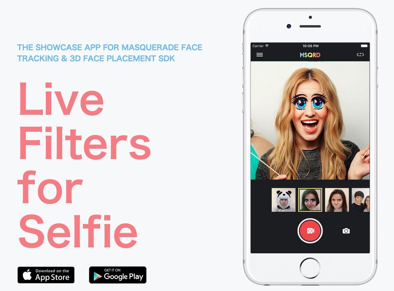 自撮り画像にリアルタイムでエフェクトを加えるアプリ「MSQRD」Facebookに買収されていた