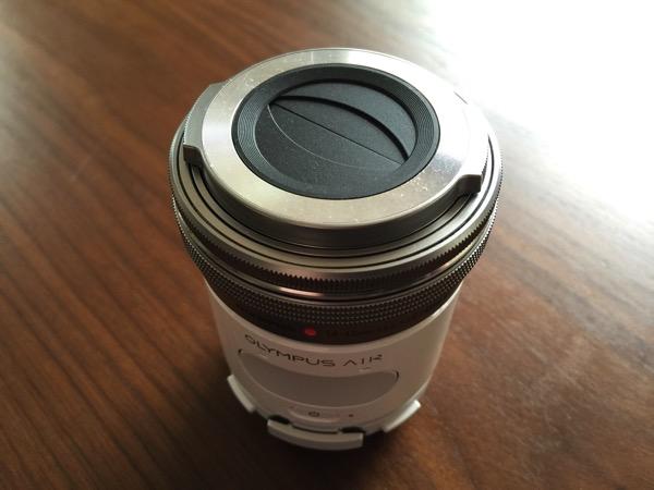 【OLYMPUS AIR】撮影時にiPhoneで写真の撮影確認を表示しない設定方法