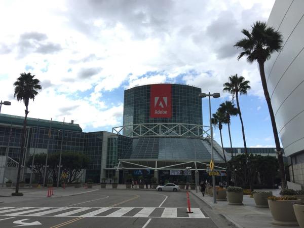 「Adobe Max」前日の会場の様子 #AdobeMAX
