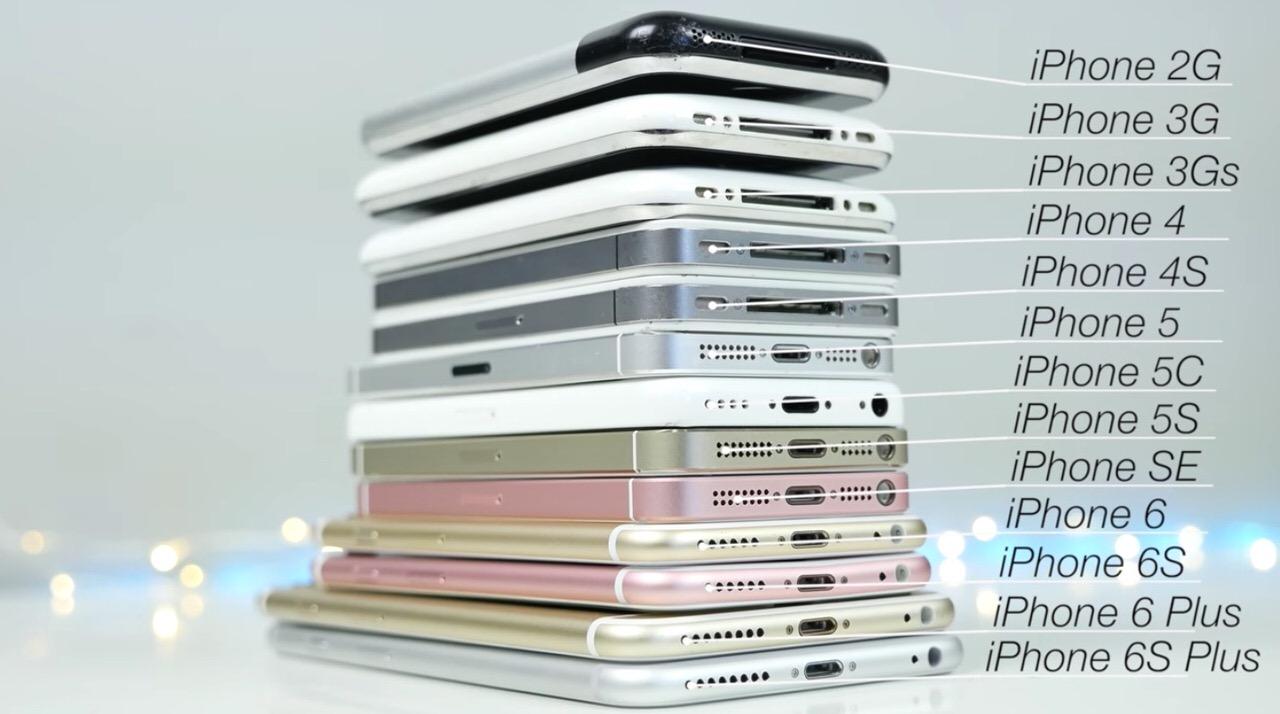 13機種!歴代iPhoneの起動時間やベンチマーク、写真性能などをチェックした動画
